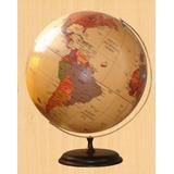 Globo Terraqueo Gloter 25 Cm - Mapa Mundi Sepía Antiguo