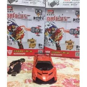 Transformers 5 Boneco Samurai Drift Carro Controle Remoto Rc