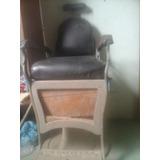 Cadeira De Barbeiro Ferrante Antiga