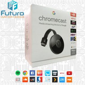 Google Chromecast 2 Hdmi 1080p / 2018 Original Lacrado Preto