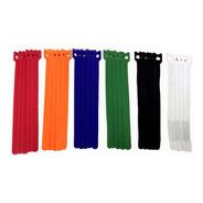 Abraçadeira Velcro Coloridas 20cm ( 30 Unidades) Discabos
