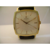 Reloj Omega De Oro 18 K Macizo New Old Stock. De Hombre.