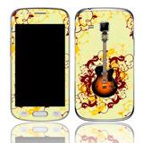 Capa Adesivo Skin373 Galaxy S Duos Gt-s7562l + Kit Tela