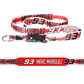 Chaveiro Cordão Com Fecho Moto Marc Marques