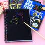 Cuaderno Hojas Magicas X 12 Hojas Crea Dibujos Incluye Lapiz