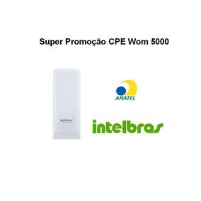 Antena Cpe Intelbras Wom 5000i 5.8ghz 12dbi Nano Wisp