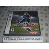 Nintendo Ds Winning Eleven Pro Evolution Soccer 2007 Nds