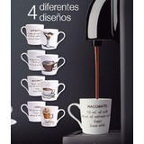 Tazas Y Platos 8 Pzas Para Café Express Crown Baccara