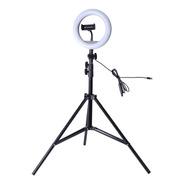 Aro De Luz Led Celular Selfie Trípode 2.1m Stromberg Shine