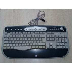 Hp Teclado Multimedia Alambrico Mod. 5308 Conexión Usb