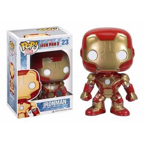 Boneco Funko Pop Homem De Ferro 3 Iron Man - 23