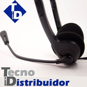 Audifono Con Microfono Estereo Gio Au-100 Para Pc, Laptop