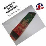 Prancha Freestyle Tracker 73x18 Com Lixa Marfim Resinad