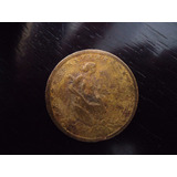 Moeda Bronze Alumínio 1000 Mil Réis 1927 Efigie República