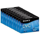 10 Video Cassette Digital Sony Mini Dv 60min Dvc