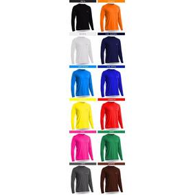 Kit 6 Camisas Térmicas Segunda Pele Proteção Uv Solar Rosset 72db4ae46a4c5