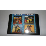 Cartucho Sega 4 In 1 - Tom And Jerry, Rambo 3, Bare Knuckle