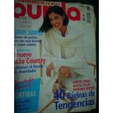 Revista Burda Moldes Moda Ropa Costura 9/96 Tejidos Country