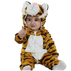 Disfraz Para Niños Bebé De Cosplay Animal Animal Mameluco D