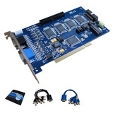 Placa Captura Dvr 16 Câmeras 4 Áudio Geovision Gv800