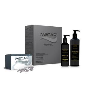 Kit Imecap Queda Intensiva Shampoo + Loção + Cápsulas 300ml