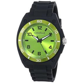 Reloj Caravelle New York 45a113 Negro Masculino
