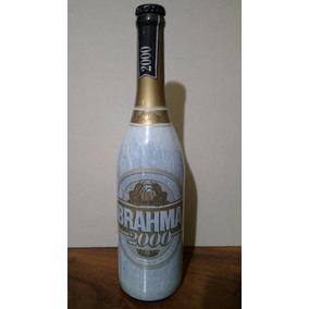 Garrafa De Cerveja Antiga Brahma Do Milênio Lacrada