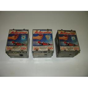 = Autorama Transformador 3 Caixas Vazias = De Melal Apenas C