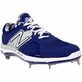 Excelentes Spikes Beisbol New Balance L3000v2 Azul/gris