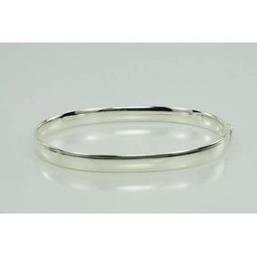 Pulseira Bracelete Prata 925 Feminino Grosso + Frete Grátis