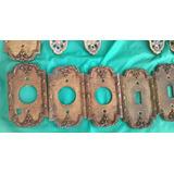 Plaquetas En Bronce - Llaves De Luz - Leer Descripción