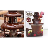 Maquina Fondue Eletrica Chocolate Fondi Cascata