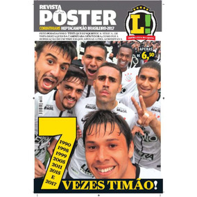 Poster Corinthians Hepta Campeäo Brasileiro 2017 Lance Novo!