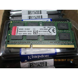 Memoria Notebook Kingston 8gb Ddr3 1600 Mhznuevas Selladas