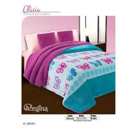 Cobertor Matrimonial Regina Borrega Modelo Alicia
