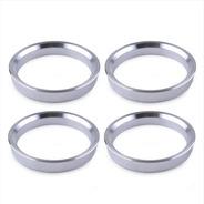 Centradores De Rin 57.1 / 67.1 Aluminio Vw Jetta (4 Piezas)