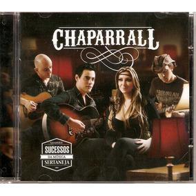 Cd Chaparral - Grandes Sucessos Da Música Sertaneja - Novo**