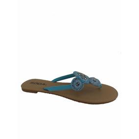 Sandalias Importadas Soda Modelo Frizz-s Turquesa