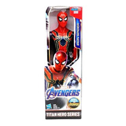 Novo Boneco Vingadores Ultimato Iron Spider Armadura Aranha