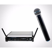 Microfone S/fio Tsi Ms-115-uhf Plus C/maleta - 9210
