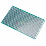 Placa Universal Pcb Perfurada Dupla Face 9x15cm - Eletrônica