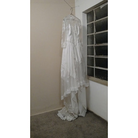 Vestido De Noiva Anos 80 90 (belissimo)
