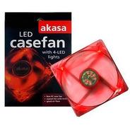 Cooler Led Casefan Vermelho - Akasa