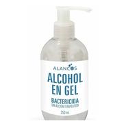 Alcohol En Gel Bactericida 250 Ml X 2 Uni Con Dosificador