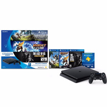 Ps4 Slim 500 Gb + 3 Juegos + 1 Joystick