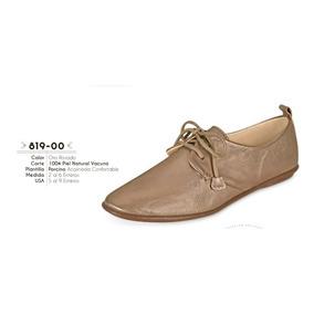Zapato Color Oro Rosado Linea Confort 819-00 Cklass