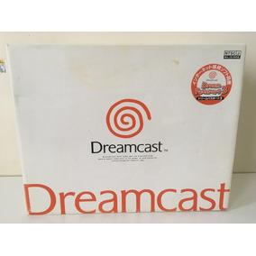 Sega Dreamcast Dc Hkt-3000 Japonês Completo Coleção