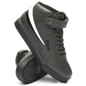 Tenis Fila Vulc,gris,bota,basketball,skate,pony,retro,hombre