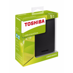 Disco Duro Externo Toshiba Canvio Basics 1tb, Usb 3.0