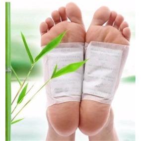 10 Adesivo Detox Pés Medicina Chinesa - Produto Natural